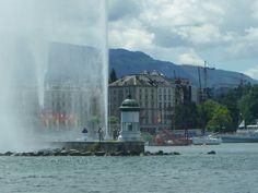 Lac Léman Ginebra-Suiza