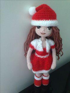 Crochet Dolls, Crochet Hats, Amigurumi Doll, Hobbies And Crafts, Art Dolls, Gifts For Kids, Free Pattern, Christmas Ornaments, Knitting