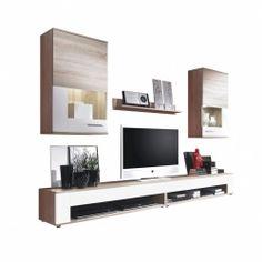 Wohnzimmermöbel mit Naturfarben oder Hochglanzoptik und vielen anderen frei wählbaren Extras bei vladon.de