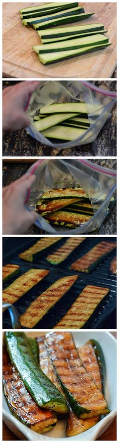 Balsamic Grilled Zucchini - sharedbest