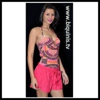 Shorts Lady pink Ref.12109 Tamanho P.