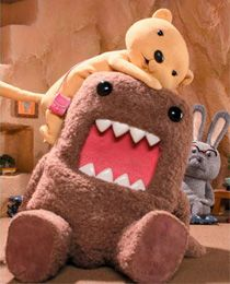 Domo (どーも くん Dōmo-kun) is the official mascot of Japan's NHK television station.