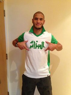 Adlene Guedioura  algerian football team
