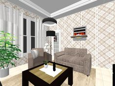 3D Room Planning Tool. Plan Your Room Layout In 3D At Roomstyler | Saját  Terveim | Pinterest | Decorating, Room And Interiors