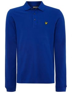 Lyle and Scott Long Sleeve Mens Polo T-Shirt