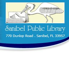 Sanibel Library - already got my guest pass - they have a big kids section with a doll house and toys for a rainy day on the Island
