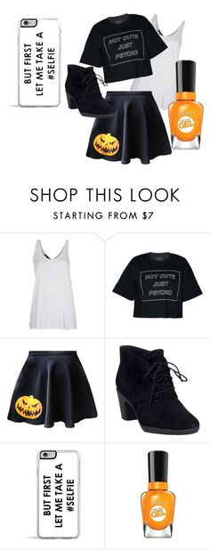 """""""Cadie #1"""" by minnie-neve on Polyvore featuring Barbara Bui, Clarks, Zero Gravity and Sally Hansen"""