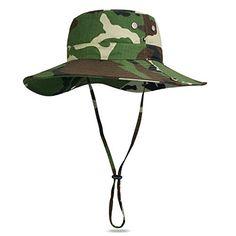 Vbiger Outdoor Boonie Hat Men's Outdoor Hats Camouflage B... https://www.amazon.com/dp/B01GUPTX88/ref=cm_sw_r_pi_dp_HhNAxbXXZVDGC