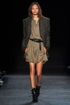 Malaika Firth for Isabel Marant Fall RTW 2014
