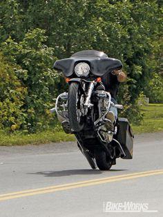2006 Harley Davidson Street Glide - Blown Darkness