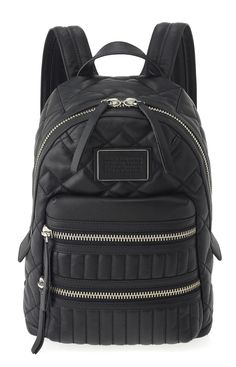 Marc by Marc Jacobs Domo Biker Quilted Backpack in Black