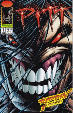 Pitt 1  January 1993 Issue  Image Comics  Grade NM by ViewObscura