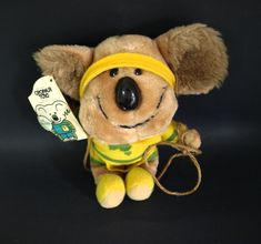Willy Koala Soft Toy - 1984 Olympic Games Los Angeles Mascot - Vintage Willy 1 Mascot Australia Souvenir Collectable Croner Toys