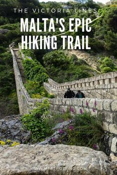 The Victoria Lines are an epic walking trail stretching 12km across the island of Malta. Use our simple guide to prepare for this scenic hike in Malta. Victoria Lines | Great Wall of Malta | Victoria Lines Trek | Treks in Malta | Malta | See and Do in Malta | Visit Malta | Malta Walks | European Destination | Europe | Hiking Routes, Hiking Europe, Europe Travel Tips, Hiking Trails, Hiking Dogs, Travel Packing, Destination Voyage, European Destination, Cool Places To Visit
