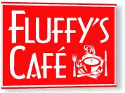 FLUFFYS CAFE and BAKERY NYC - Coffee, Tea, Gluten Free - Open 6a-12a - Just south of Central Park on 7th Ave