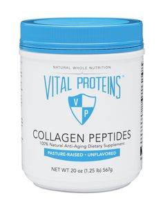 Pasture-Raised Collagen Peptides, 20 oz Canister