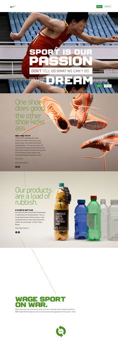 Nike Better World - how cool is that