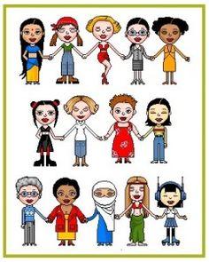 Lippsland: Un Doodle per la festa della donna