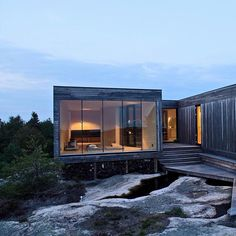 A Norwegian summer house by Reiulf Ramstad Architects.