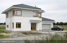 Duplex Design, House Design, House 2, Plant Decor, House Plans, Construction, Mansions, Architecture, Nice