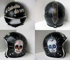 oldschoolhelmets.webs.com custom HAND painted helmets.
