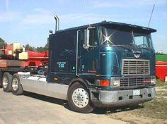 international cabover   international truck 1989 cabover 425 cat 13 spd long wheel base $ ...