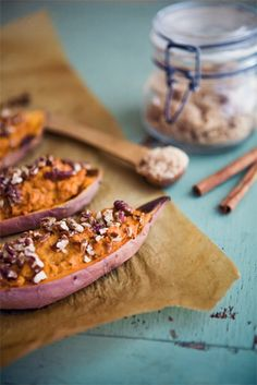 Twice Baked Sweet Potatoes | Some the Wiser
