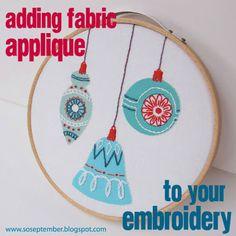 septemberhouse applique embroidery tutorial