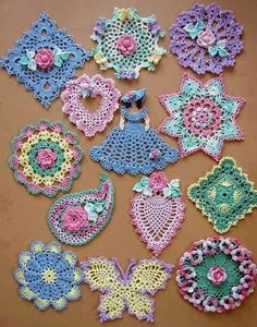lovely vintage potholders