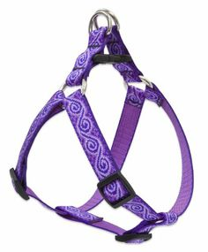 "Lupine 3/4"" Jelly Roll 20-30 Step In Dog Harness - http://www.thepuppy.org/lupine-34-jelly-roll-20-30-step-in-dog-harness/"