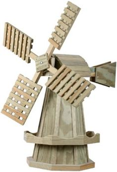 Dutch Windmill Woodworking Plan The Dutch Windmill is a truly classic design that will never be out of style! Bring a piece of the Netherlands to your yard or garden when you build this wonderful Dutc
