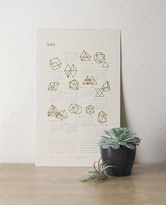 Prisms Calendar by Julia Kostreva