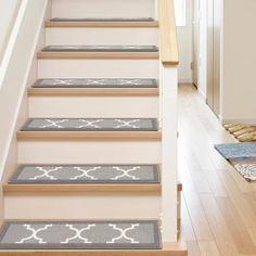 Best Arette Gray Stair Tread Stair Treads Carpet Stair 400 x 300