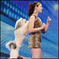 Girl and Her Dancing Doggie Best Friend Perform a Dazzling Routine! You Gotta See This <3<3<3