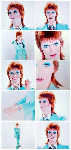 Promo video for Life On Mars, filmed and directed by Mick Rock. Earls Court, May 12th 1973.