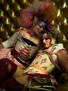 Rococopunk is not only sillier than Steampunk, it's also more punk