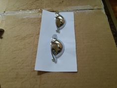 DISCOUNT $2.0 TWO HIGH QULITY K.B.C # 43865 CHROME CABINET DRAWER CUP PULLS SEE PICTURES Antique Drawer Pulls, Cabinet Drawers, See Picture, Chrome, Antiques, Pictures, Antiquities, Photos, Antique
