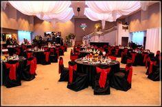 Black wedding bridesmaid dresses black wedding gownsdresses redblackgoldweddingreception google search junglespirit Gallery