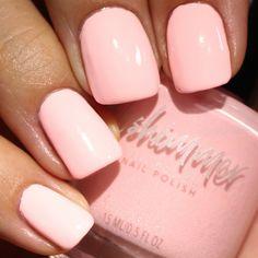 Meet Me At The Barre Pastel Pink Nail Polish by KBShimmer