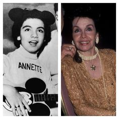 'Mickey Mouse Club' Mouseketeers Original Cast: Then and Now 4 - Woman's World Actors Then And Now, Celebrities Then And Now, Young Celebrities, Original Mickey Mouse Club, Annette Funicello, Disney Day, Walt Disney, Child Actors, Old Tv Shows