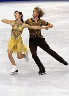 Here's to three Jewish American male figure skaters competing at the Sochi Olympics! Charlie White with ice dancing partner Meryl Davis