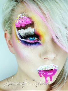Candy Color Makeup| Maquiagem artística
