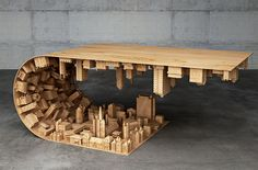 Stelios Mousarris Inception wave city table2