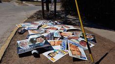 Hasta mañana tienen plazo los partidos políticos para limpiar la ciudad.: Deberán retirar carteles y limpiar pegatinas, de lo contrario…