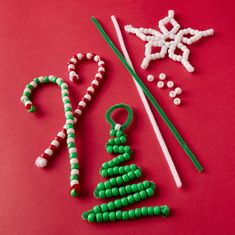 Chenille Pipe Cleaner Snowflake Ornament