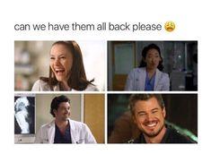 I wan't Derek and Lexie ❤️❤️❤️