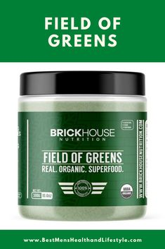 Give your healthy habits a boost with our superfood powder, Field of Greens. We believe in creating the best powdered greens with a science-backed formula that uses 100% real USDA organic fruits and vegetables. #multivitamin #menshealth #Healthandfitness #healthandwellness #exercise #workout #supplement #affiliate Whole Food Multivitamin, Health And Wellness, Health Fitness, Vitamins For Energy, Organic Fruits And Vegetables, Superfood Powder, Green Powder, Healthy Habits, Whole Food Recipes
