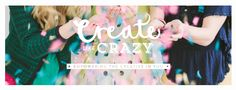 Photo and Website Header with Confetti