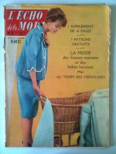 L'echo de la mode n° 8 année 1960