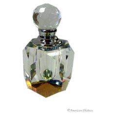led crystal Art Deco perfume bottle